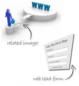 web lead form